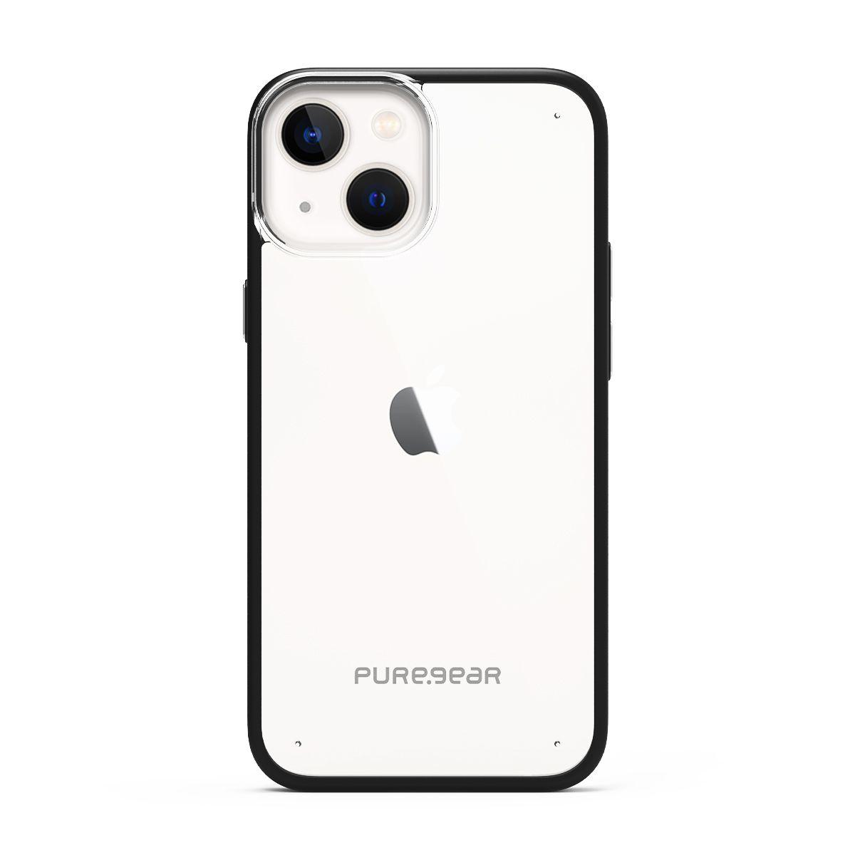 Apple iPhone 13 Slim Shell - Clear/Black