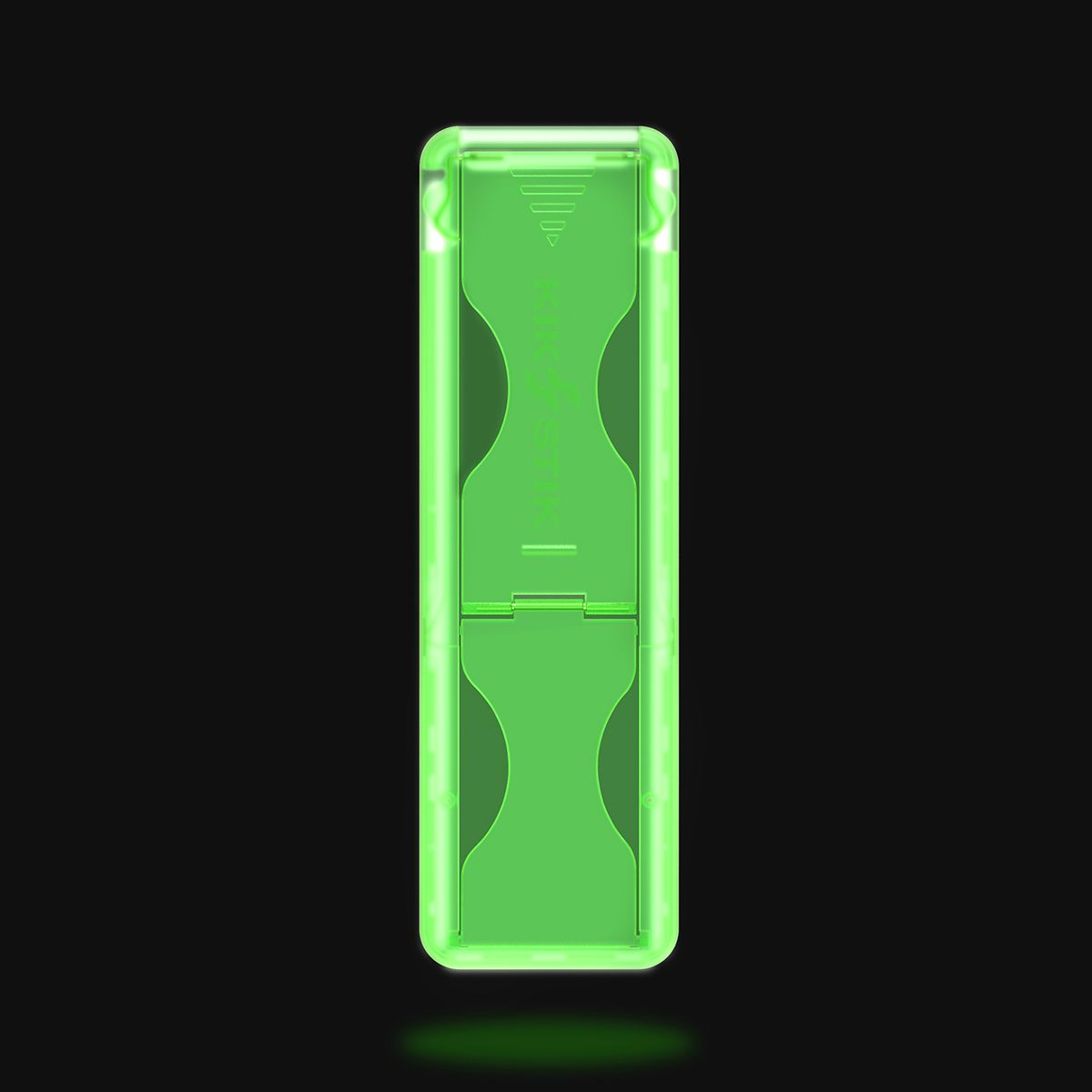 KikStik - Smartphone Kickstand - Glow in the Dark Green