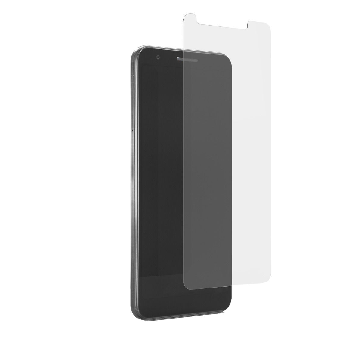 LG V50 ThinQ Steel 360 Tempered Glass Screen Protector with Clear Borders Alignment Tray and Pure Pledge up to $100