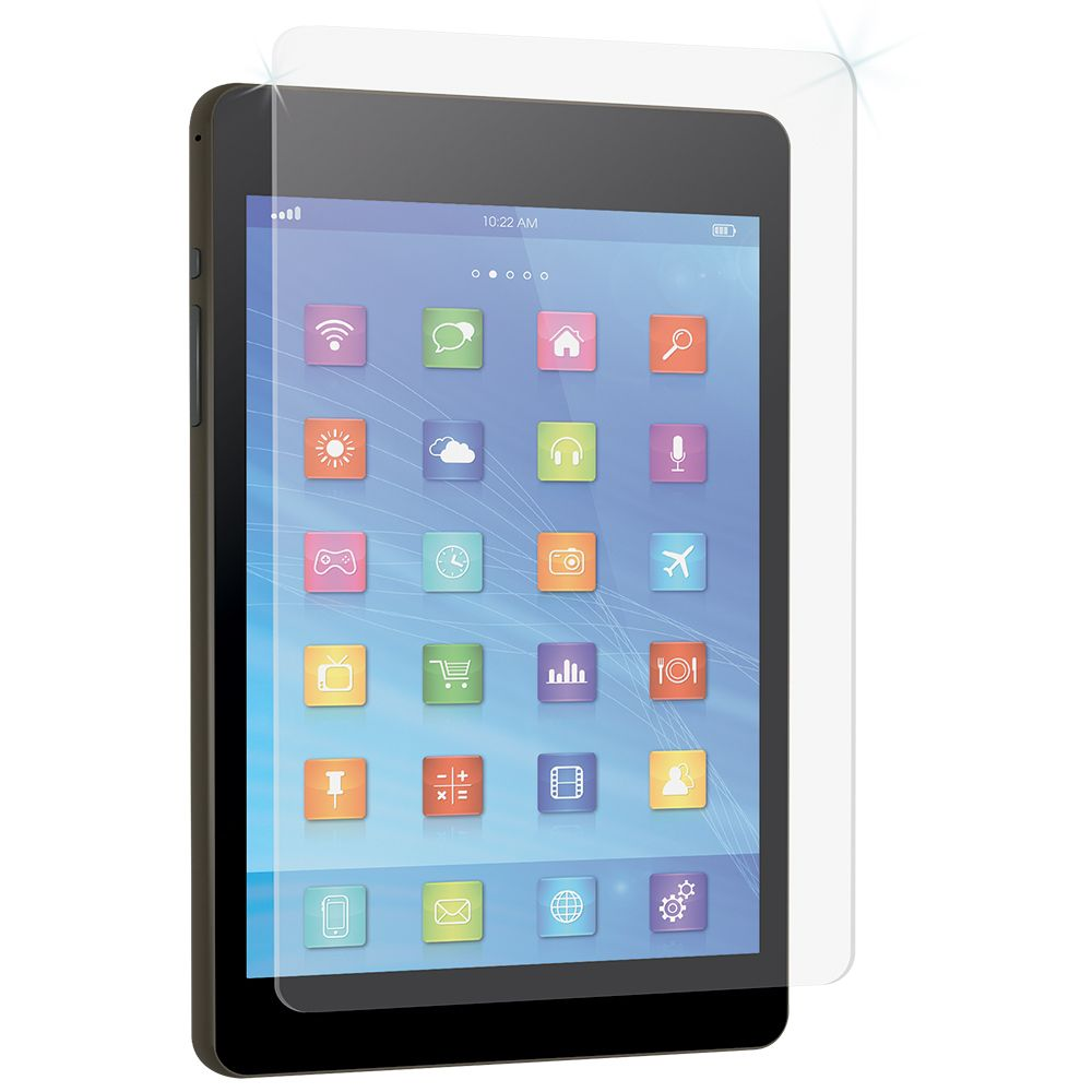 Samsung Galaxy Tab E8 High-Definition Glass Screen Protector with Alignment Tray