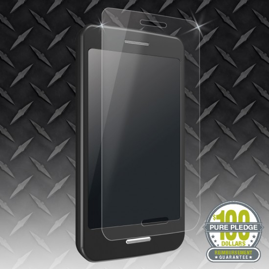 Steel 360™ High-Definition Tempered Glass Screen Protector with Anti-Chip Edges for Stronger iPhone Protection